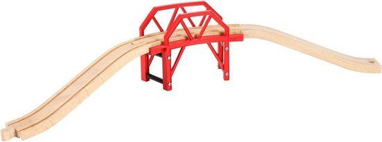 BRIO® Spielzeugeisenbahn-Brücke »BRIO® WORLD Bahnbrücke mit Auffahrten«