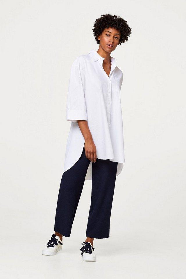esprit lange oversize bluse im hemd stil kaufen otto. Black Bedroom Furniture Sets. Home Design Ideas