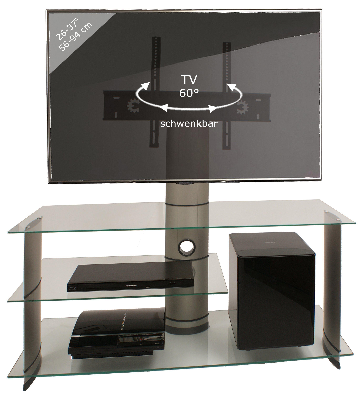 """VCM TV-Möbel """"Bulmo Silber"""""""