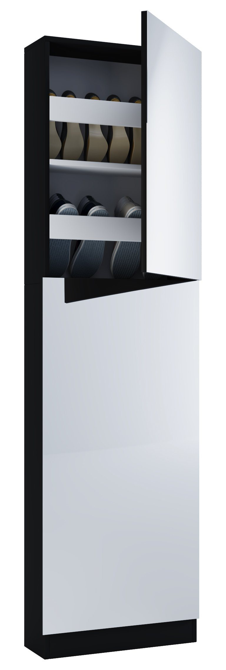 designer schuhschrank mit spiegel preisvergleich die besten angebote online kaufen. Black Bedroom Furniture Sets. Home Design Ideas