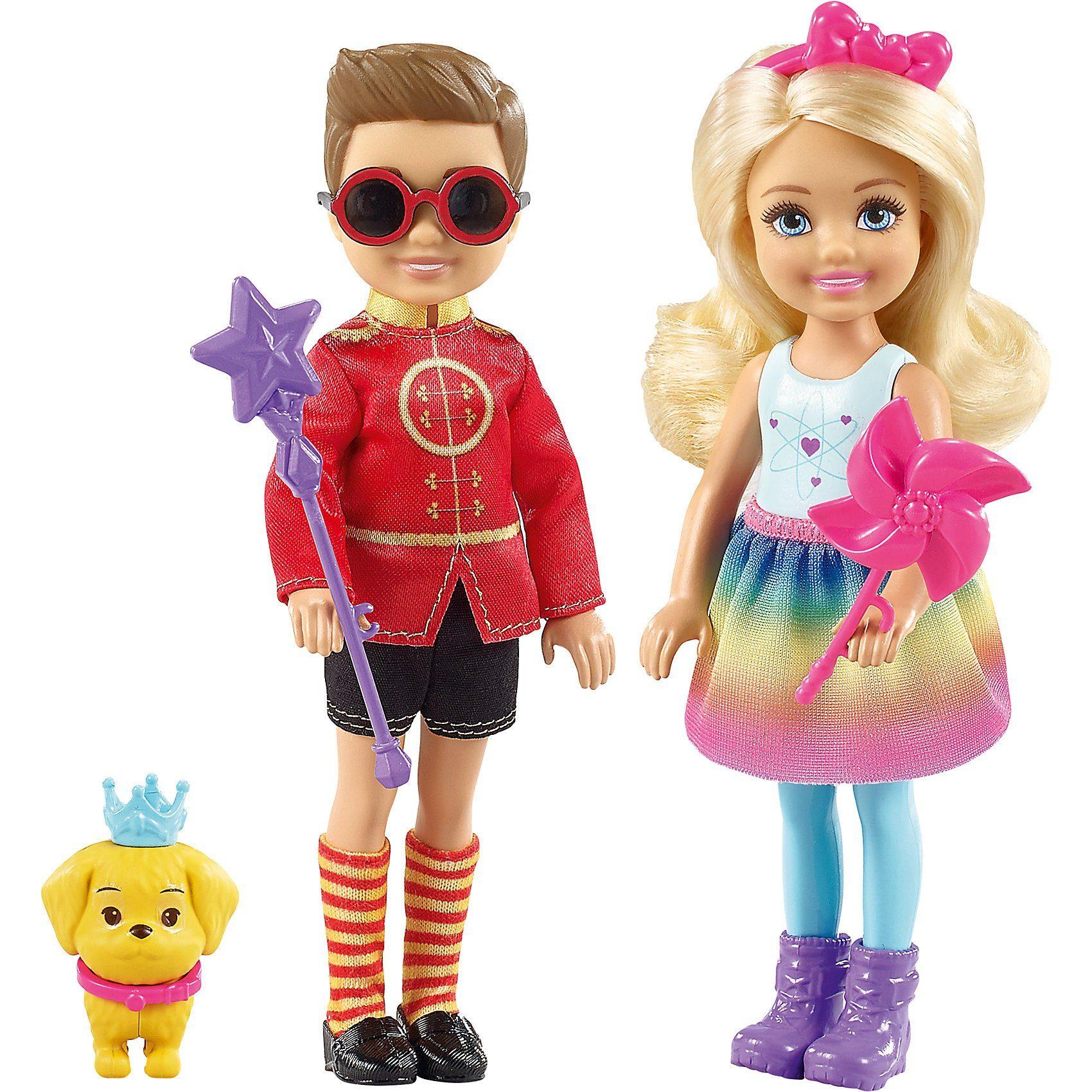 Mattel® Barbie Dreamtopia Chelsea und Prinz Otto Puppenset
