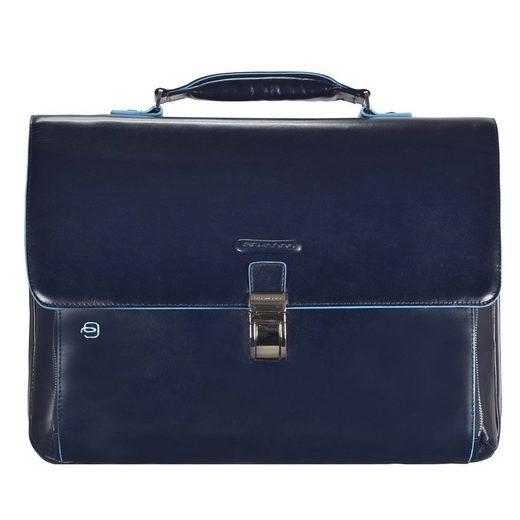 Piquadro Blue Square Aktentasche II Leder 40 cm Laptopfach