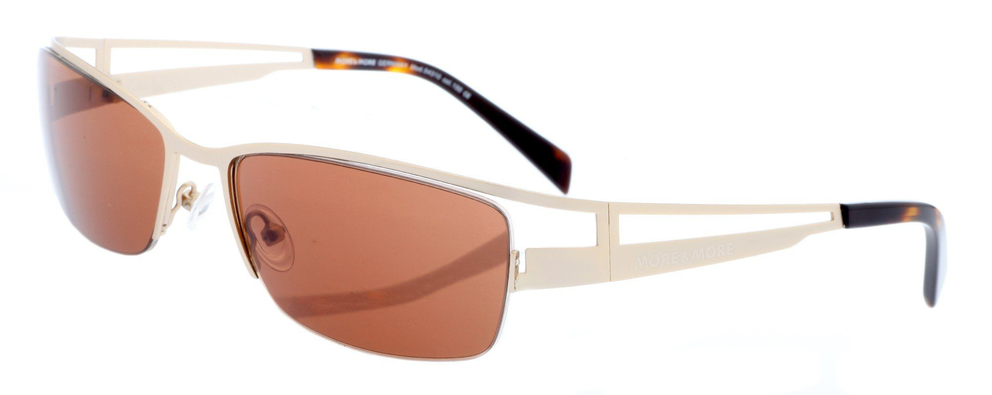 MORE&MORE Sonnenbrille, goldfarben, goldfarben