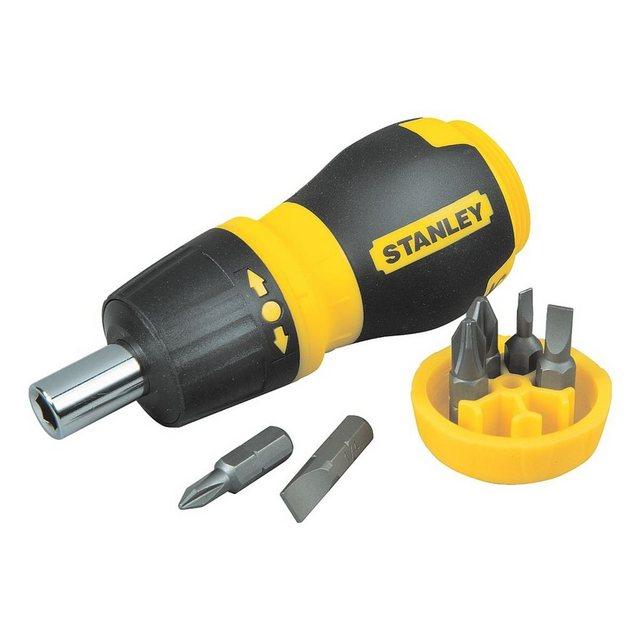 STANLEY Bit-Schraubendreher-Set 7-tlg.   Baumarkt > Werkzeug > Werkzeug-Sets   Bunt   Stanley
