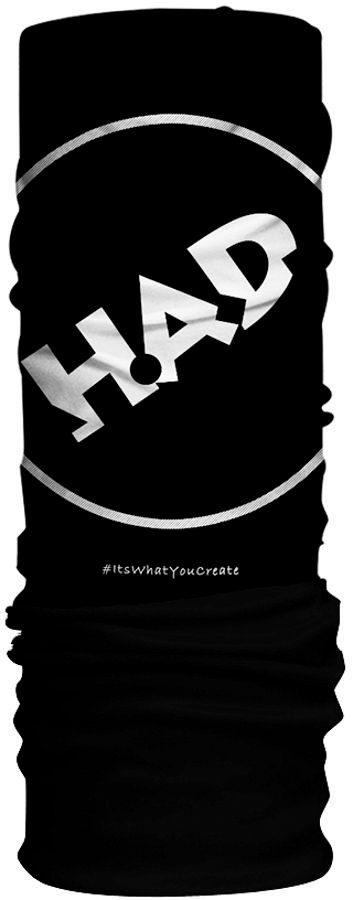HAD Accessoire »Original Fleece Tube Scarf pro/black«