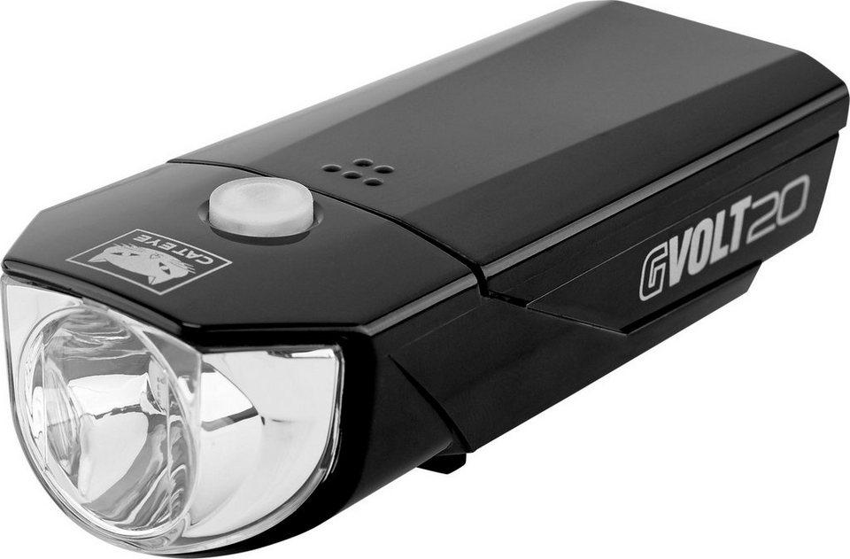 cateye fahrradbeleuchtung gvolt20 hl el350g frontlicht mit stvzo online kaufen otto. Black Bedroom Furniture Sets. Home Design Ideas