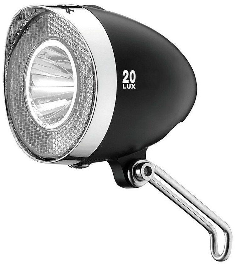 xlc fahrradbeleuchtung led retro batterie scheinwerfer. Black Bedroom Furniture Sets. Home Design Ideas