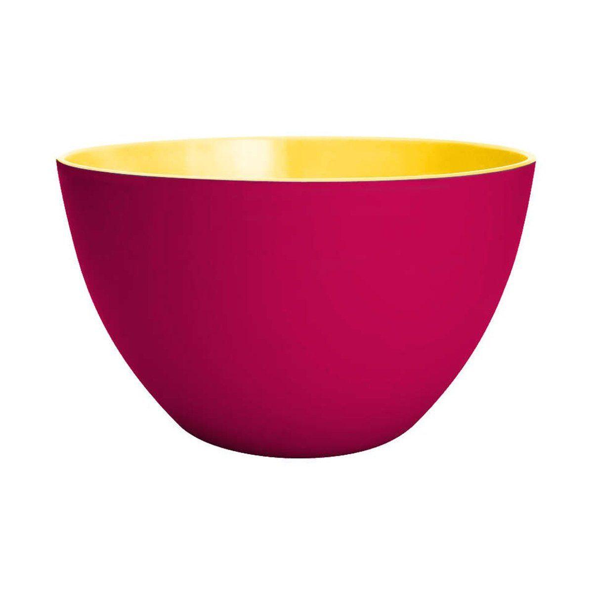 ZAK designs Schüssel DUO 18 cm Grapefrucht-gelb