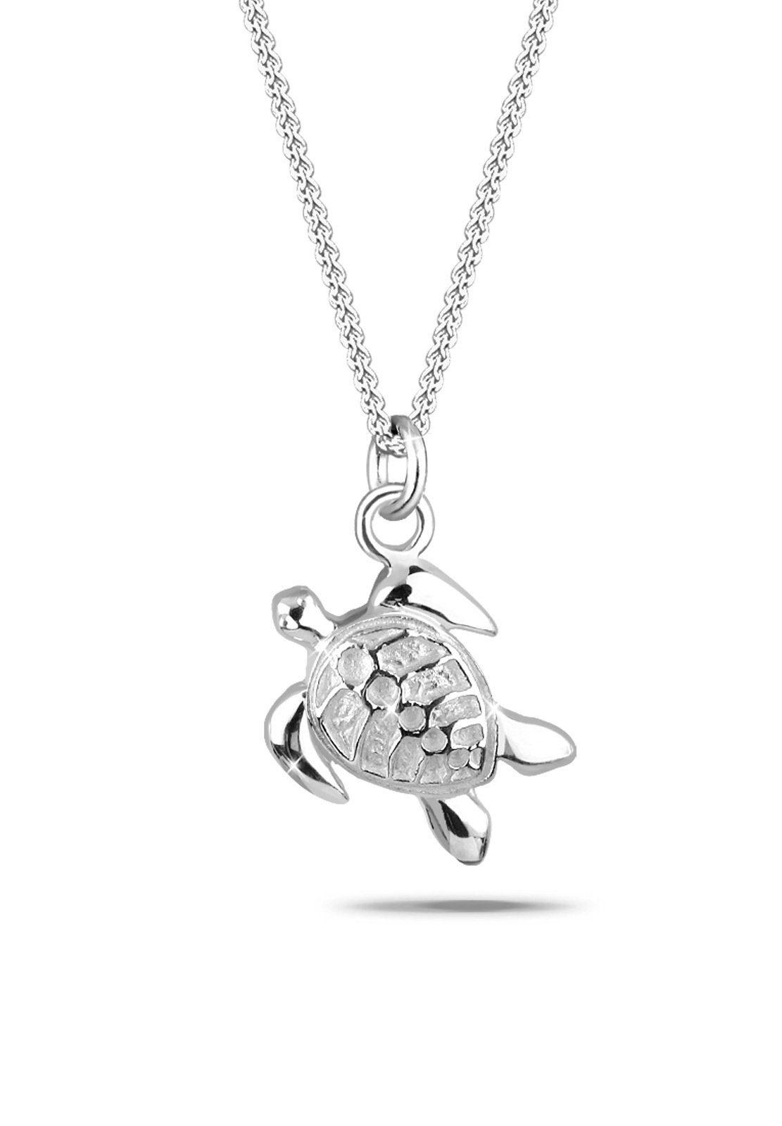 Elli Collierkettchen »Schildkröte Meer 925 Sterling Silber«