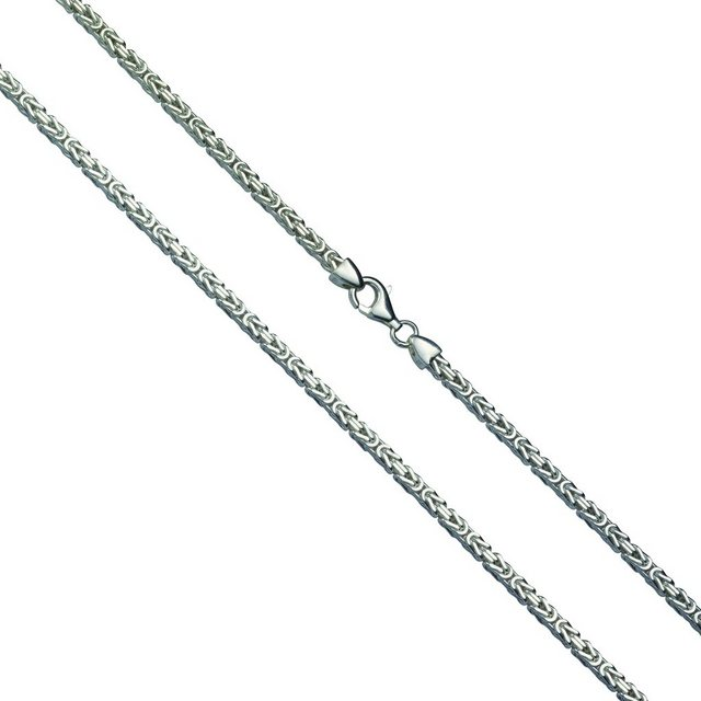Firetti Collier »Königskette 925-/ Silber rhod.«   Schmuck > Halsketten > Königsketten   Grau   Firetti