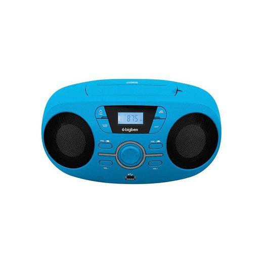 BigBen »Tragbares CD/Radio CD61 USB, blau« CD-Player