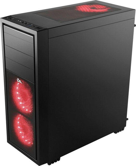 CSL HydroX T8752 Wasserkühlung Gaming-PC AMD Ryzen 7 3700X, GeForce GTX 1660 Super, 16 GB RAM, 1000 GB SSD, Wasserkühlung