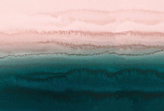 living walls Fototapete »ARTist Within the Tides«, (Set, 4 St), Gezeiten, Vlies, glatt