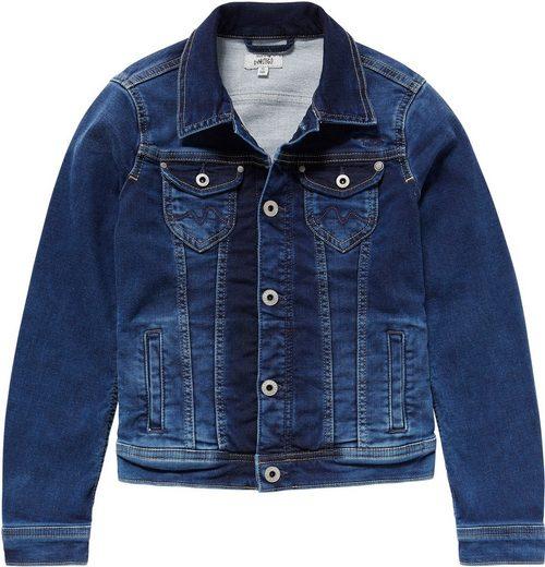 Pepe Jeans Jeansjacke »NEW BERRY« in elastischer Qualität