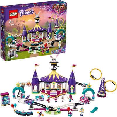 LEGO® Konstruktionsspielsteine »Magische Jahrmarktachterbahn (41685), LEGO® Friends«, (974 St), Made in Europe