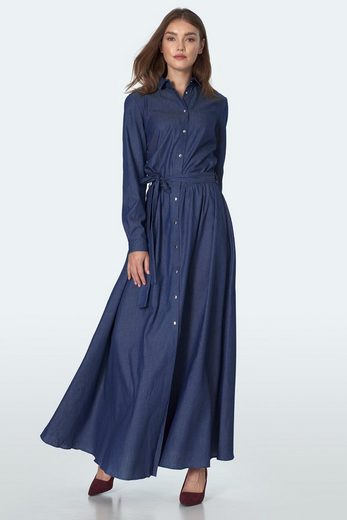 nife Jerseykleid »S157« im lässigen Jeans-Look