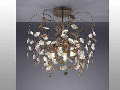 TRIO LED Deckenleuchte, modern im Florentiner Stil, für über Esstisch-lampe, Galerie, Wohnzimmer, Vintage, Ankleidezimmer, Flur-Beleuchtung