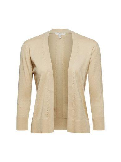Esprit Strickjacke »Offener Cardigan aus 100% Bio-Baumwolle« (1-tlg)