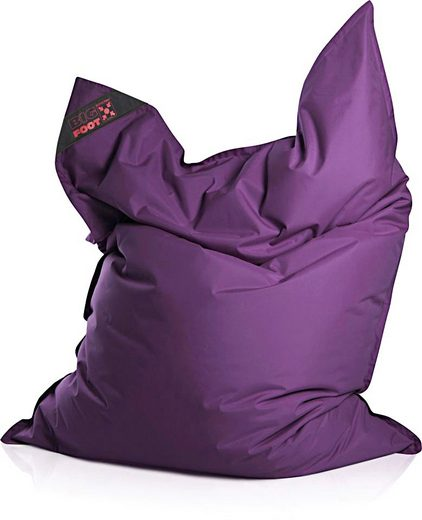 Sitzsack »Big Foot«, Indoor / Outdoor geeignet