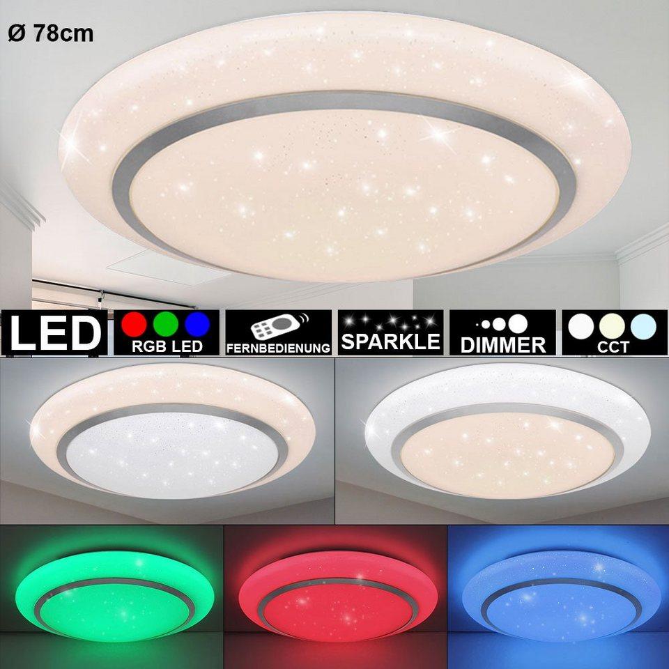 etc shop LED Deckenleuchte, Deckenleuchte Sterneneffekt ...