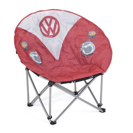 VW Collection by BRISA Campingstuhl »VW T1 Bulli Front Motiv«, Inklusive Tragetasche
