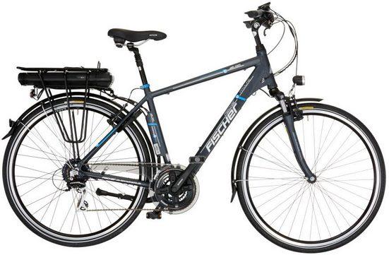 FISCHER Fahrräder E-Bike »ETH 1401«, 24 Gang Shimano Acera Schaltwerk, Kettenschaltung, Heckmotor 250 W