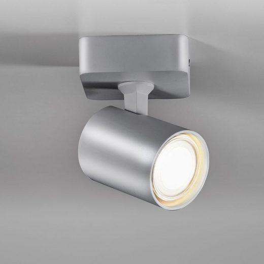 click-licht Deckenspot »Spot Cup in Grau GU10 1-flammig«, Deckenstrahler, Deckenspot, Aufbaustrahler