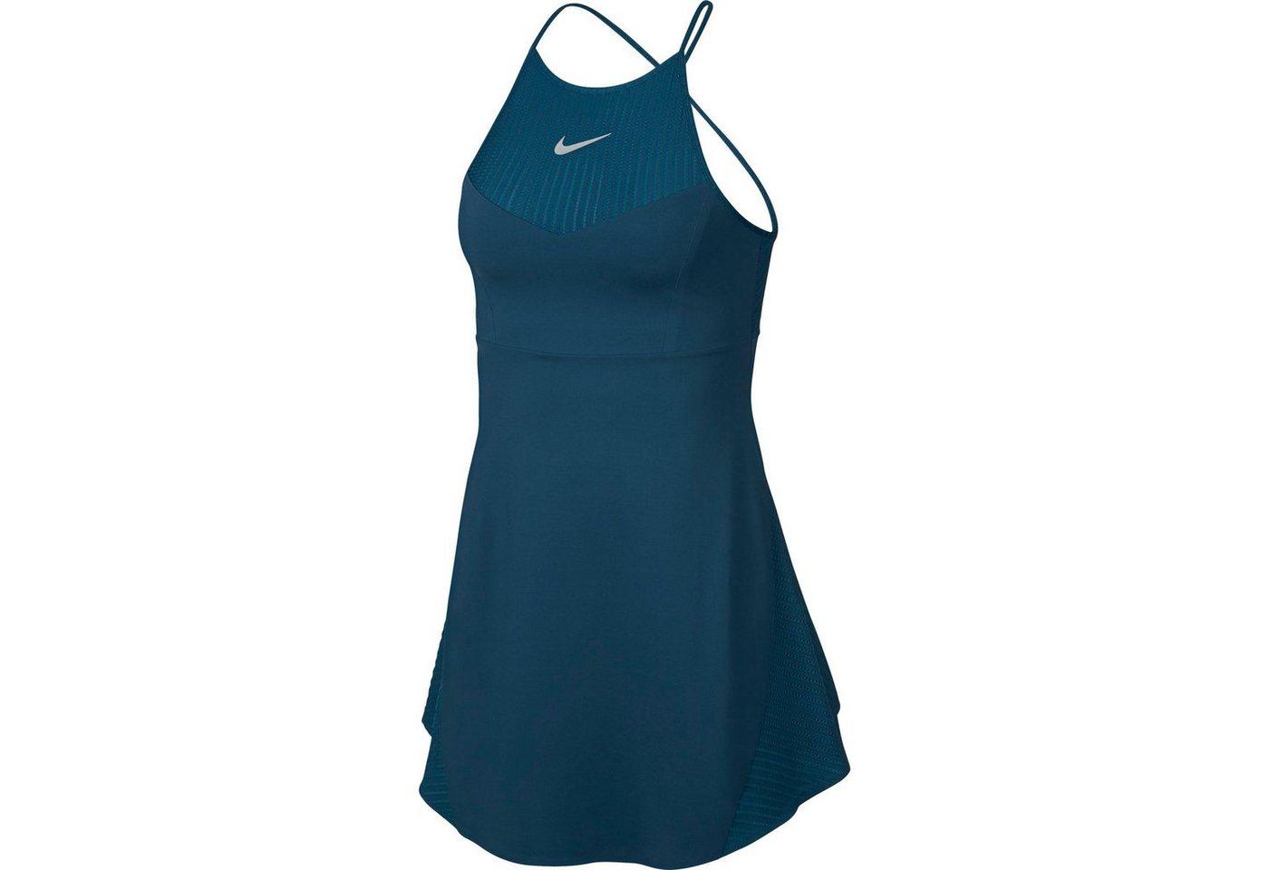 Nike Tenniskleid »MARIA W NKCT DRSS PS«   Sportbekleidung > Sportröcke > Tennisröcke   Blau   Nike
