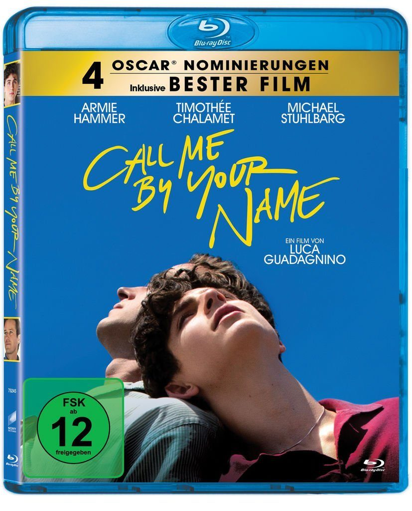 Sony Pictures BLU-RAY Film »Call me by your Name«