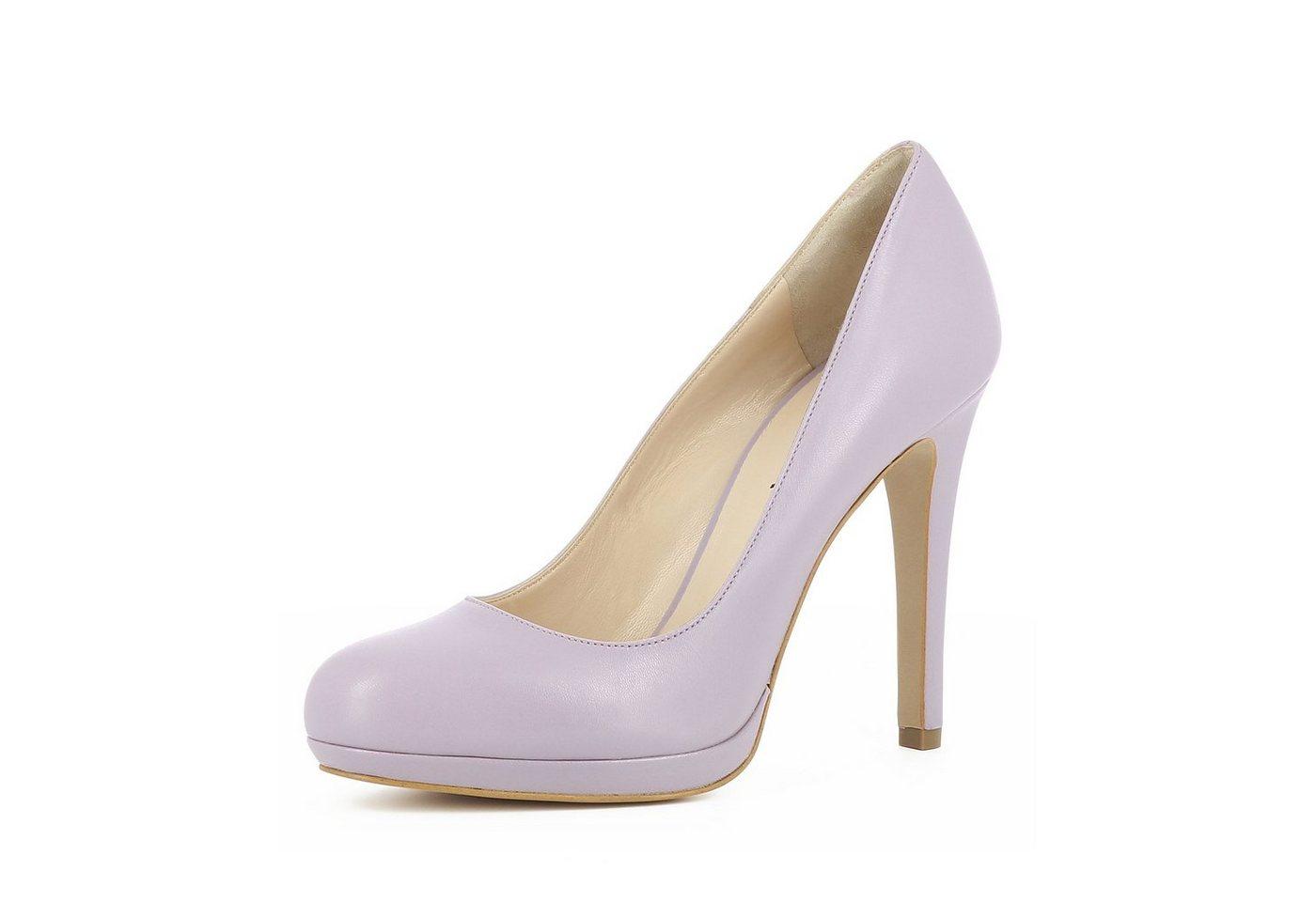 Evita »CRISTINA« Plateaupumps   Schuhe > Pumps > Plateaupumps   Lila   Evita