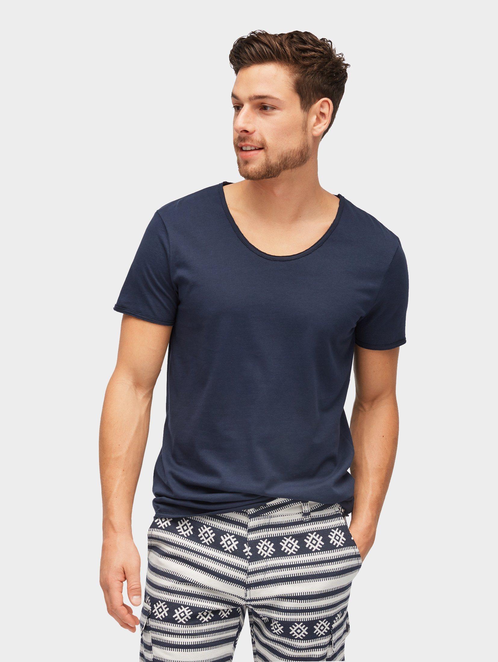 Tom Tailor Denim T-Shirt »T-Shirt mit V-Ausschnitt«   Bekleidung > Shirts > Sonstige Shirts   Tom Tailor Denim