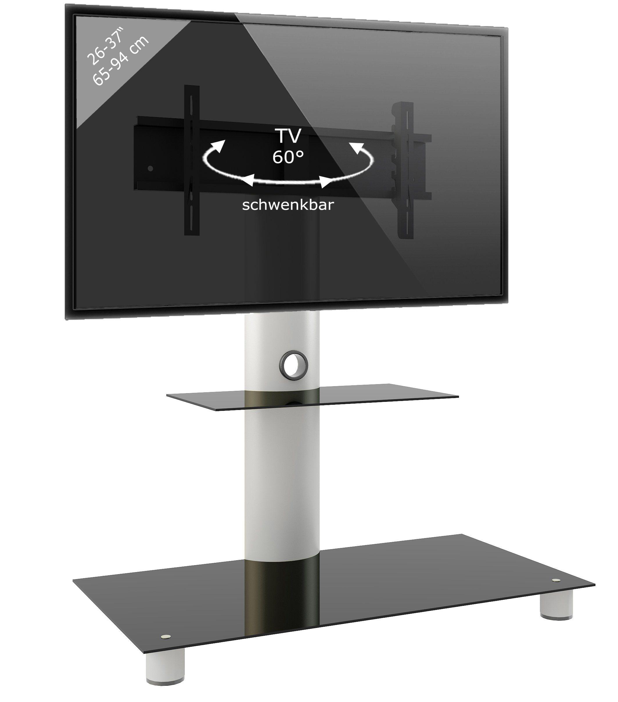 VCM TV-Standfuß ´´Standol Zwischenboden´´ | Wohnzimmer > TV-HiFi-Möbel > Ständer & Standfüße | Aluminium - Sicherheitsglas | VCM