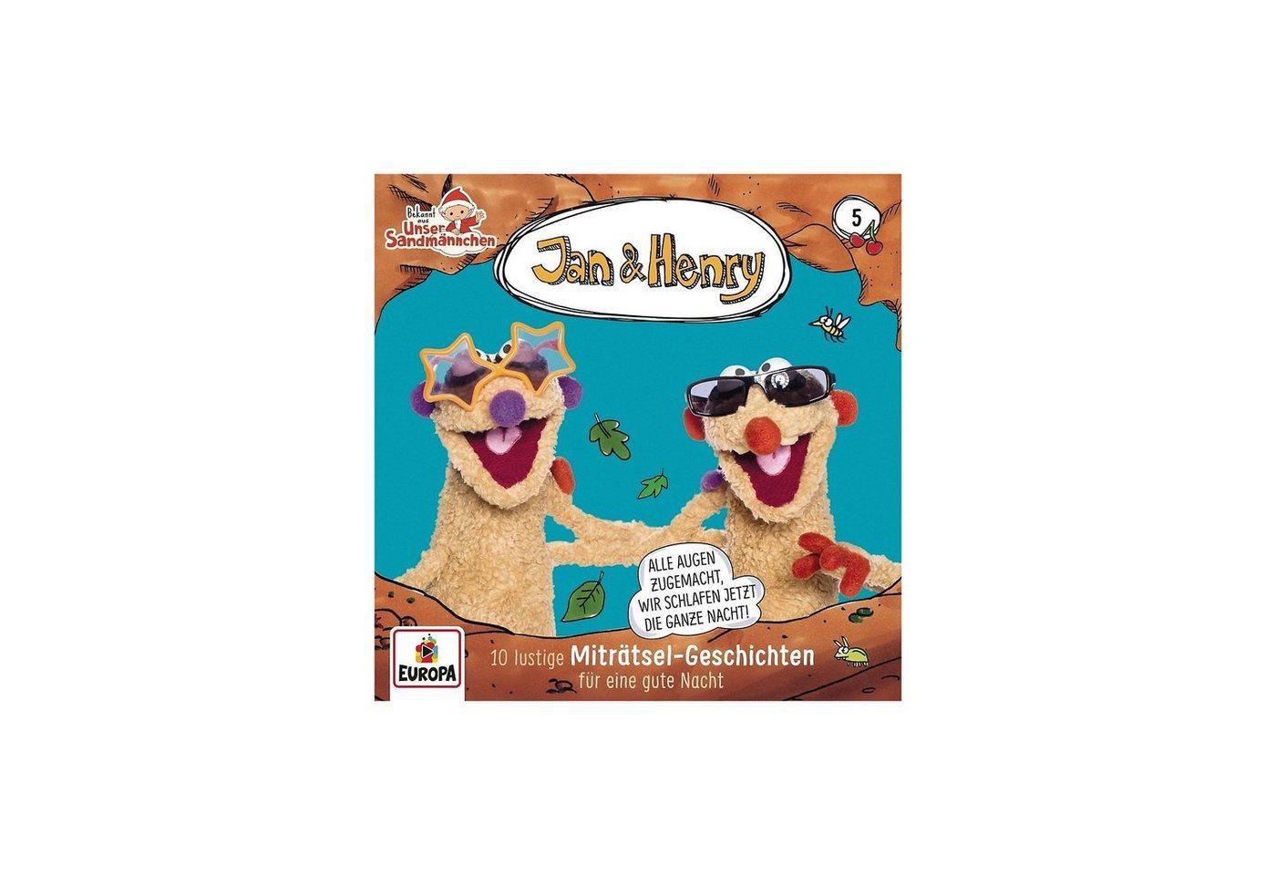 Sony CD Jan & Henry 05 - 10 lustige Miträtsel-Geschichten