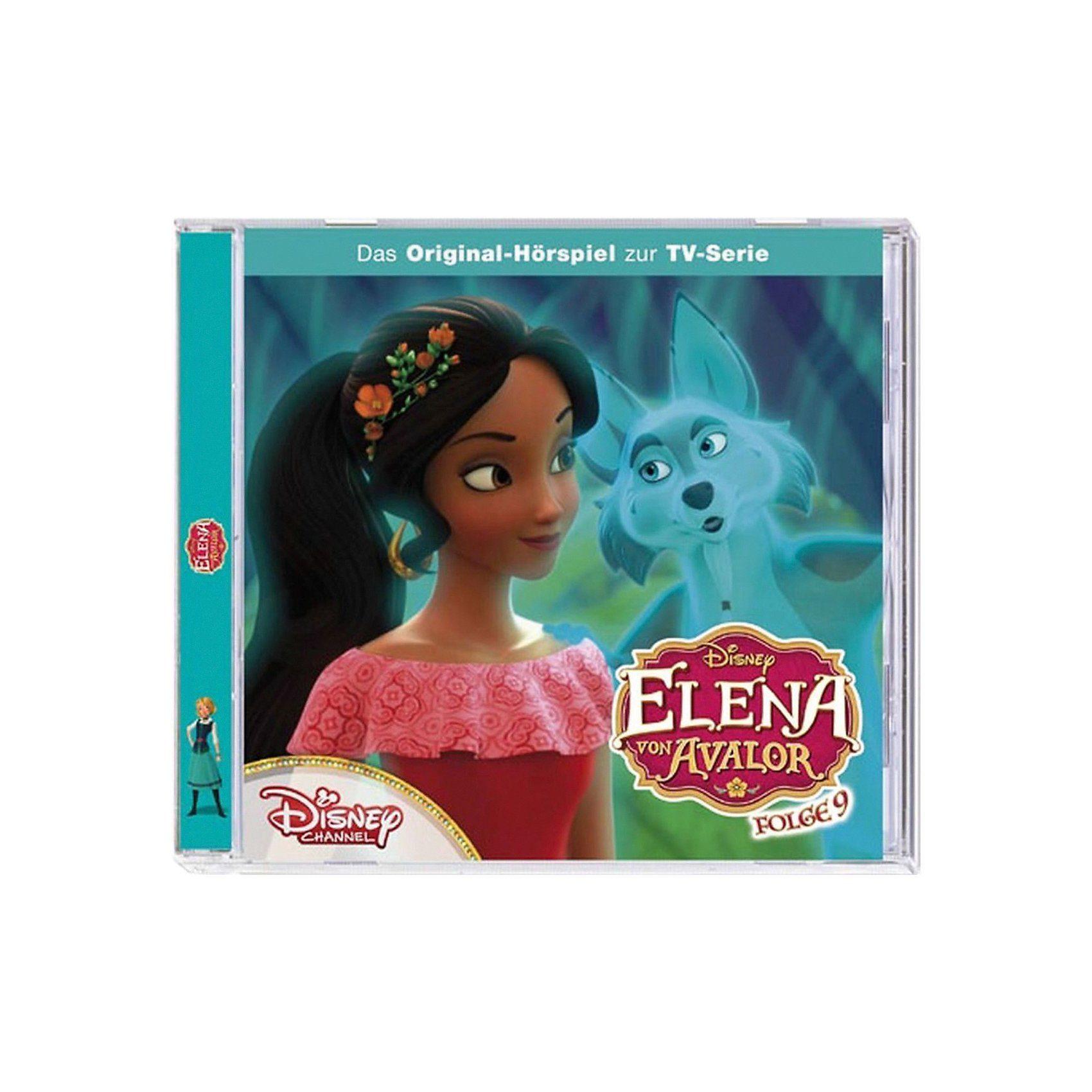Kiddinx CD Disney Elena von Avalor 9 - Zu Hause in Avalor/In der Gei