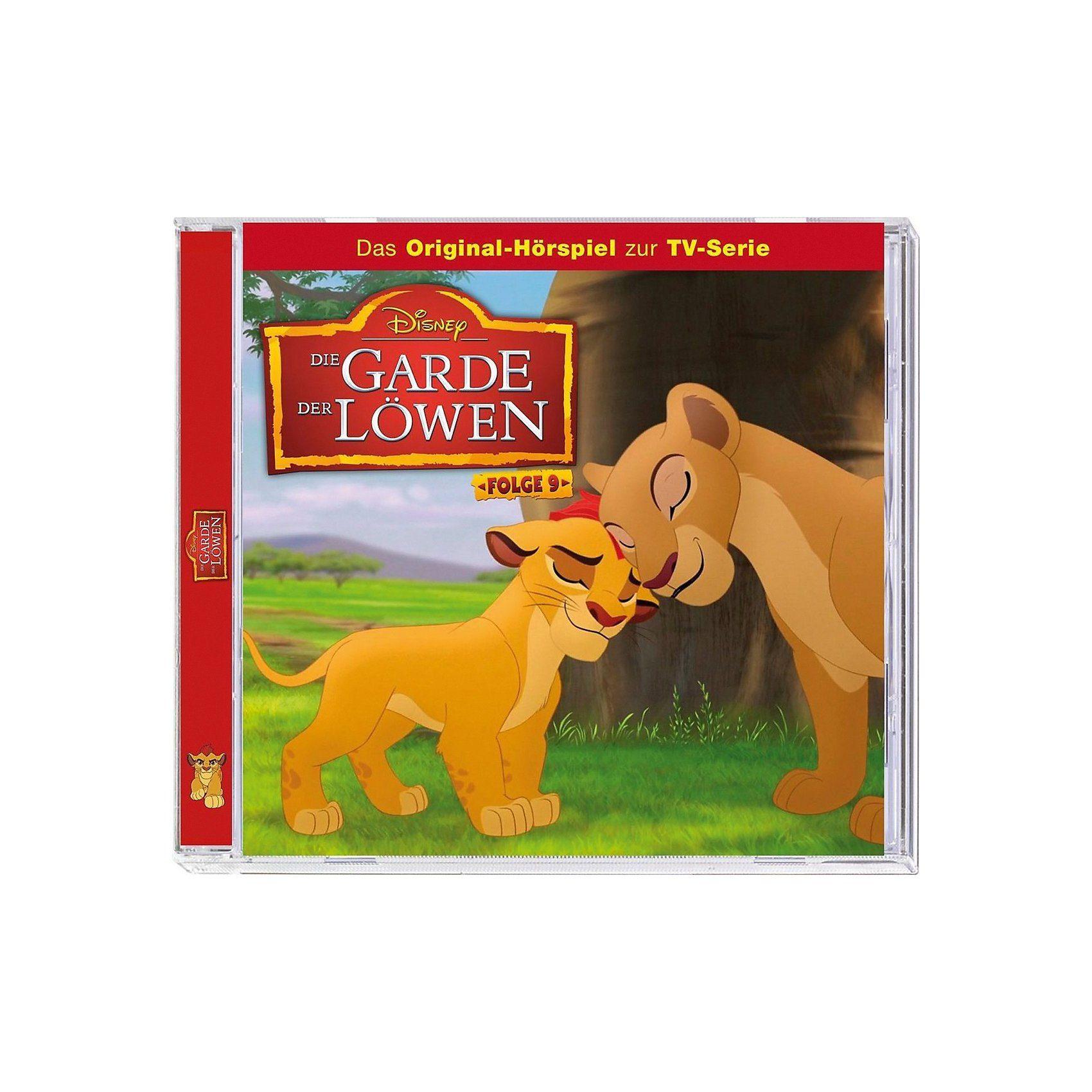 Kiddinx CD Disney Die Garde der Löwen 9 - Banga und der König