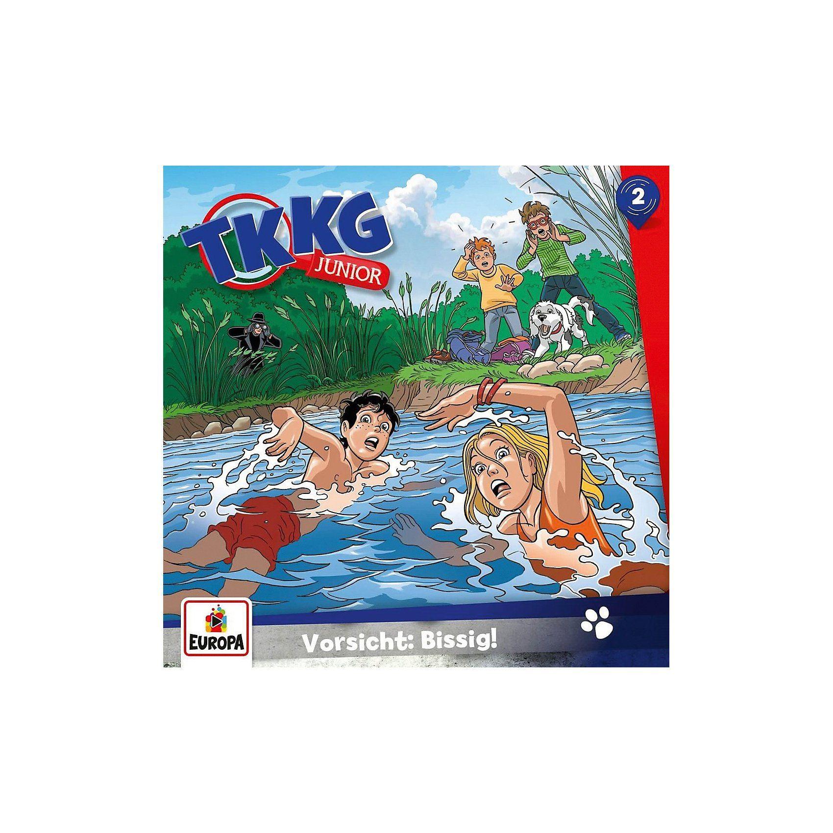 Sony CD TKKG Junior 02 - Vorsicht: Bissig!