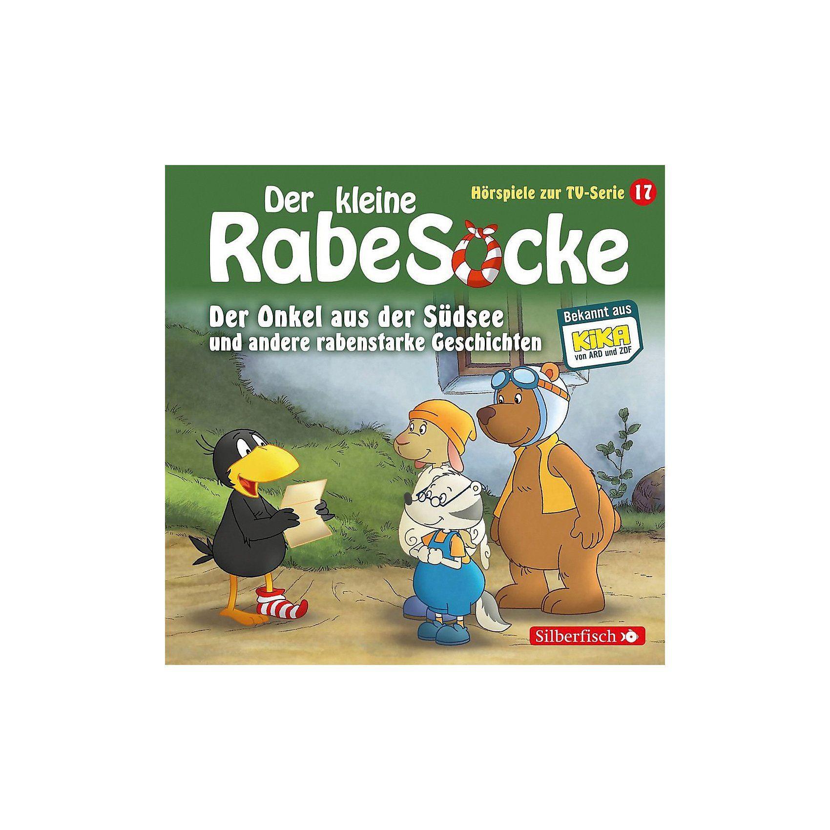Universal CD Der Kleine Rabe Socke 17 - Der Onkel aus der Südsee u. a.