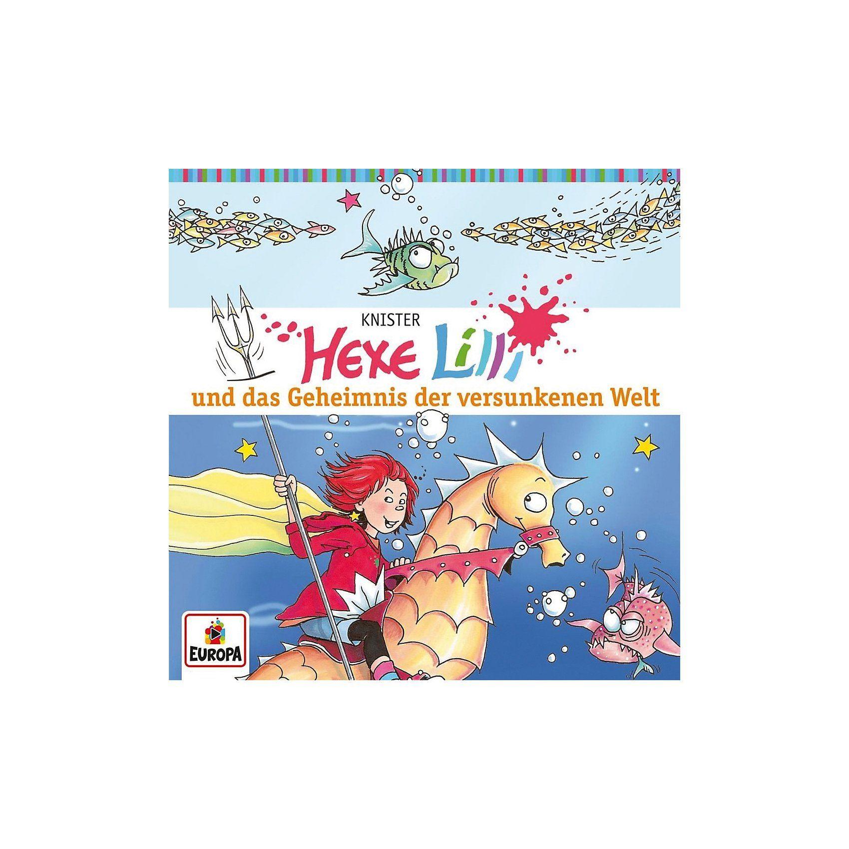Sony CD Hexe Lilli 08 - und das Geheimnis der versunkenen W