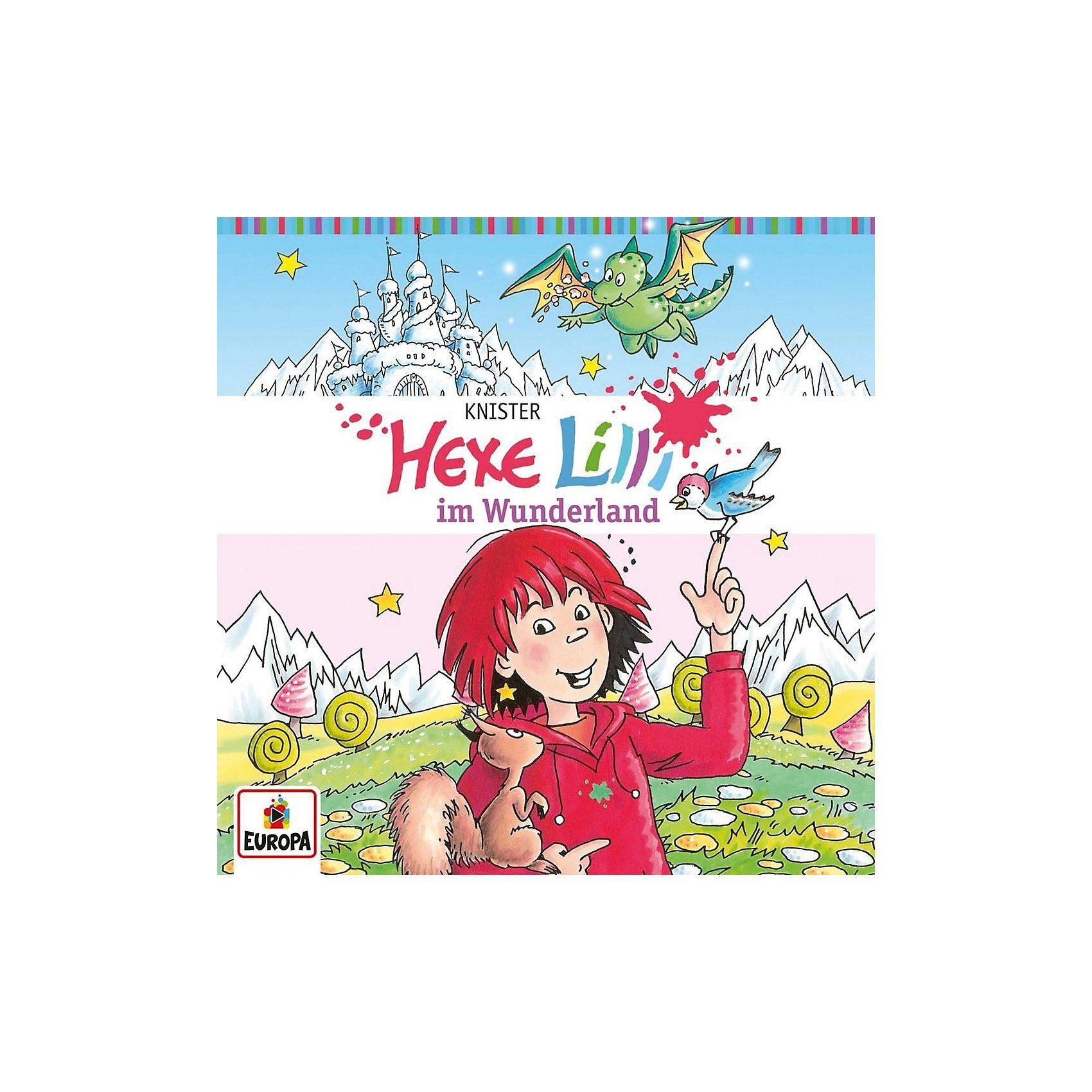 Sony CD Hexe Lilli 18 - im Wunderland