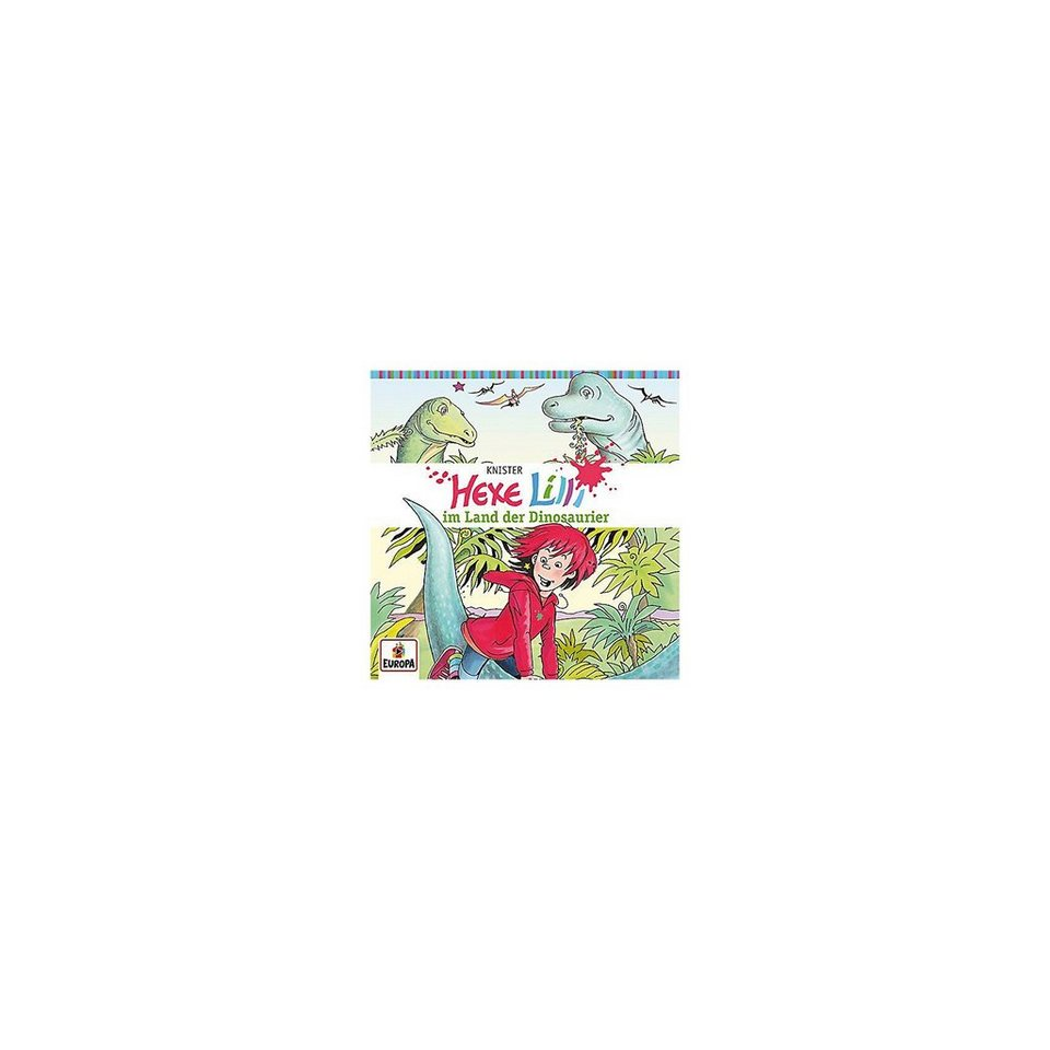 Sony CD Hexe Lilli 14 - im Land der Dinosaurier