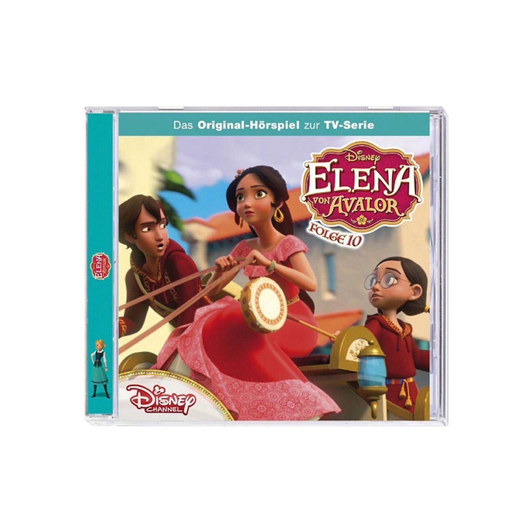 Kiddinx CD Disney Elena von Avalor 10 - Naomis Verwandlung/Der Zaube