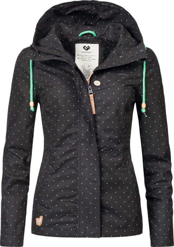 ragwear outdoorjacke ym lynx dots stylische gepunktete. Black Bedroom Furniture Sets. Home Design Ideas