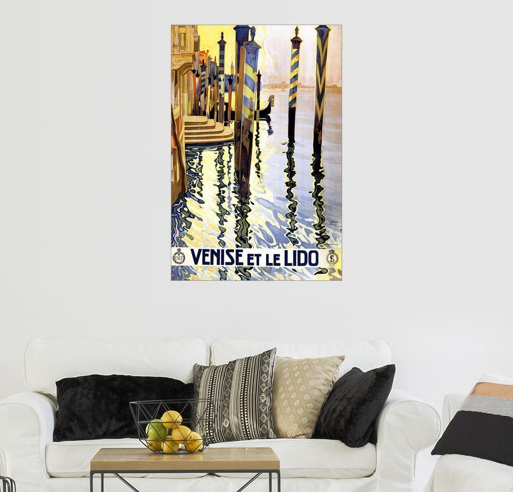 Posterlounge Wandbild »Italien - Venedig«