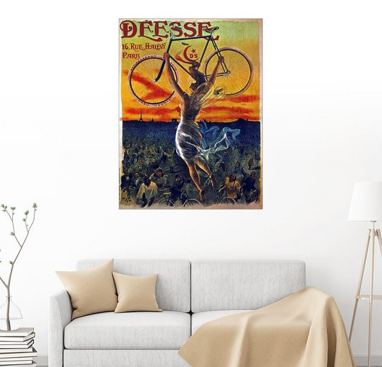 Posterlounge Wandbild - Jean de Paleologue »Deesse Fahrräder«