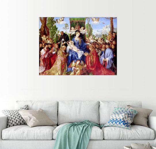 Posterlounge Wandbild - Albrecht Dürer »Das Rosenkranzfest«