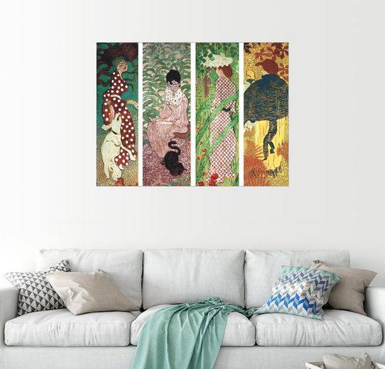 Posterlounge Wandbild - Pierre Bonnard »Frauen im Garten«