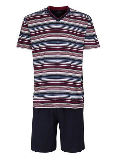 GÖTZBURG Pyjama (2 tlg) Bügelfrei Klima Aktiv