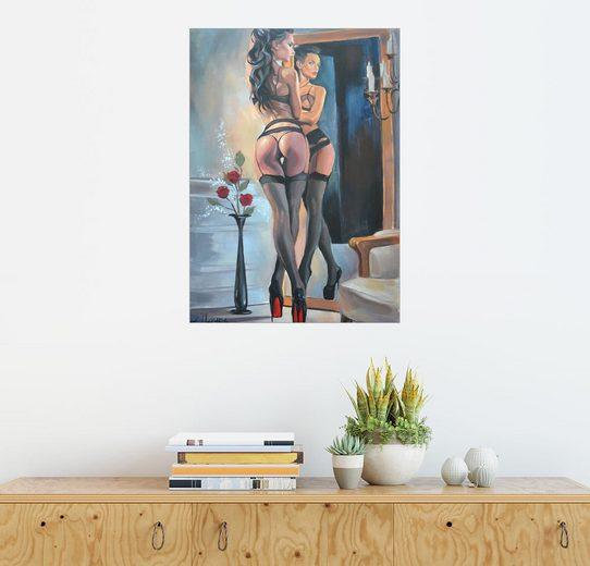 Posterlounge Wandbild - EllectraArt »Teuflische Fußspuren II«