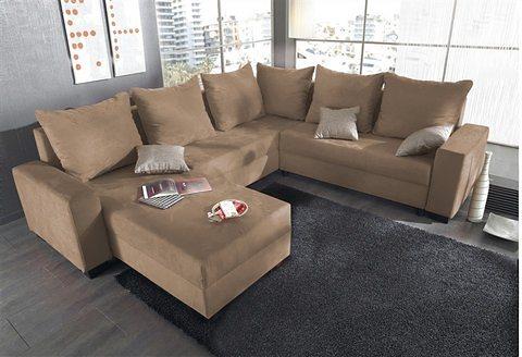 wohnlandschaft auch mit federkern online kaufen otto. Black Bedroom Furniture Sets. Home Design Ideas