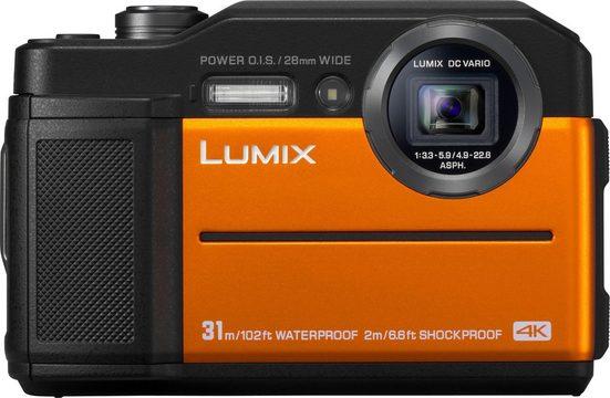 Lumix Panasonic »Lumix DC-FT7« Outdoor-Kamera (Lumix DC Vario, 20,4 MP, 4,6x opt. Zoom, WLAN (Wi-Fi)